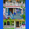 """Porches Of Saratoga,"" Saratoga Springs, NY."