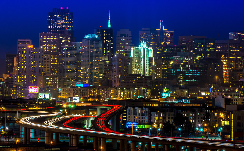 City Skyline, San Fransisco, California