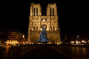 Christmas in Paris Nighttime