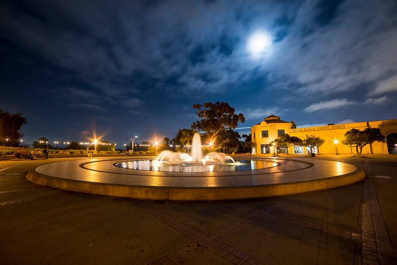 balboa park water fountain