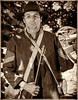 Jay Axtell, confederate Color Guard sergeant. Northwest Civil War Council, Willamette Mission Event July 2014