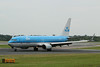 "PH-BXV ""Roodborstje/Robin"" KLM Royal Dutch Airlines Boeing 737-8K2(WL) c/n 30370 @ Manchester Airport / EGCC 01.08.14"