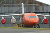 OO-TAQ TNT Airways British Aerospace 146-200QT c/n E2078 @ Exeter Airport / EGTE 01.07.14