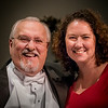 """Doc"" and Alisha Donet, one of his many voice students in the Athens Choir Group."