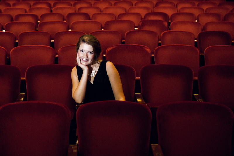 Senior Photos at Coronado Perfornmind Arts Center