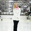 Senior Photos at Ice Skating Rink