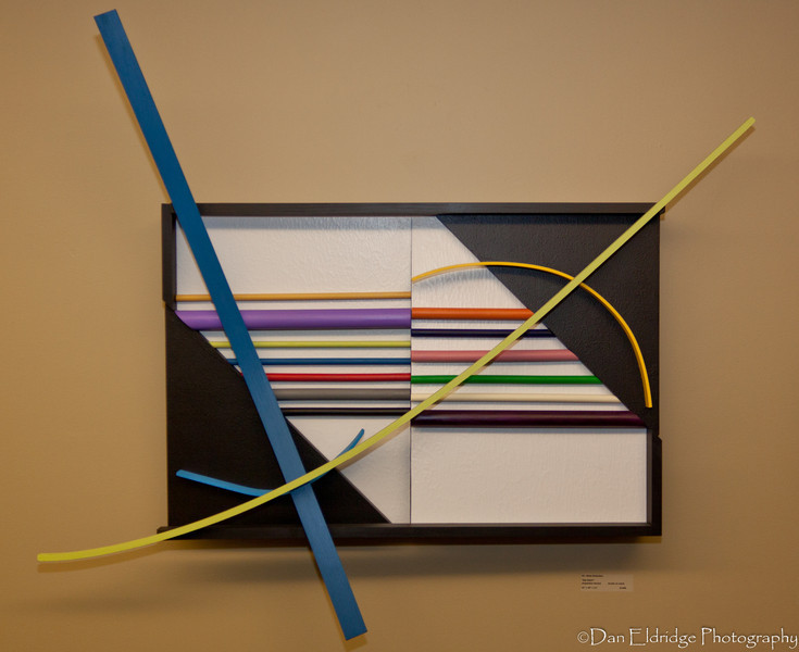 "Betty McGeehan ""Big Dipper"" (Repetition Series) Acrylic on wood - 49"" x 49"" x 11"""