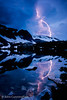 Storm over Lake Marie - Snowy Range, Medicine Bow National Forest, Wyoming - John Cunningham - July 2011
