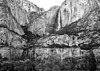 Yosemite Falls in Black and White, Yosemite National Park