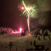 Fireworks Display at the Hoodoo Winter Carnival - February 9th, 2013 - Gary N. Miller - Sisters Country Photography