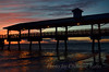 St. Simons Island Pier at sunset