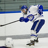 Brendan Cosgrove, of Colby College, in a NCAA Division III hockey game against Connecticut College on December 7, 2013 in Waterville, ME. (Dustin Satloff/Colby College Athletics)