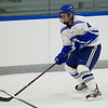 Alex Walsh, of Colby College, in a NCAA Division III hockey game against Tufts University on December 6, 2013 in Waterville, ME. (Dustin Satloff/Colby College Athletics)