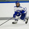 Nick Trepp, of Colby College, in a NCAA Division III hockey game against Tufts University on December 6, 2013 in Waterville, ME. (Dustin Satloff/Colby College Athletics)
