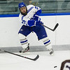 Ray Zeek, of Colby College, in a NCAA Division III hockey game against Tufts University on December 6, 2013 in Waterville, ME. (Dustin Satloff/Colby College Athletics)