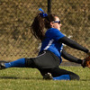 Grace Farnkoff of Colby College, during a NCAA Division III women's softball game against at Colby College on April 25, 2014 in Waterville, ME. (Dustin Satloff/Colby Athletics)