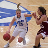 Mia Diplock, of Colby College, during an NCAA Division III college basketball game against Bates College at The Whitmore-Mitchell at Wadsworth Gymnasium, Wednesday Dec. 4, 2013 in Waterville, ME.  (Dustin Satloff/Colby College Athletics)