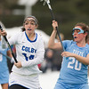Gemma Bready of Colby College, during a NCAA Division III women's lacrosse game against at Tufts University on March 15, 2014 in Waterville, ME. (Dustin Satloff/Colby Athletics)