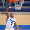 Myles Stephenson, of Colby College, in a NCAA Division III basketball game against Maine Maritime Academy on January 21, 2015 in Waterville, ME. (Dustin Satloff/Colby College Athletics)
