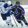 Mike Doherty, of Colby College, in an NCAA Division III college hockey game against Amherst College at Alfond Rink at Alfond Arena, Saturday Jan. 7, 2012 in Waterville, ME.  (Dustin Satloff/Colby College Athletics)