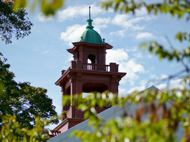 2010; Bell Tower; campus; College Hall