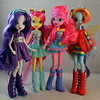 Rarity, Fluttershy, Pinkie Pie and Rainbow Dash