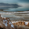 Lookout from Antelope Island
