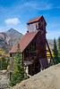 The Yankee Girl Mine, near the Million Dollar HIghway, Ouray County, Colorado, USA.