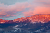 """Winter Day's End""<br /> <br /> A vivid winter sunset. Taken along Owl Creek Pass near Ridgway, Colorado, USA."