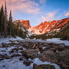 Dream Lake, Winter Sunrise
