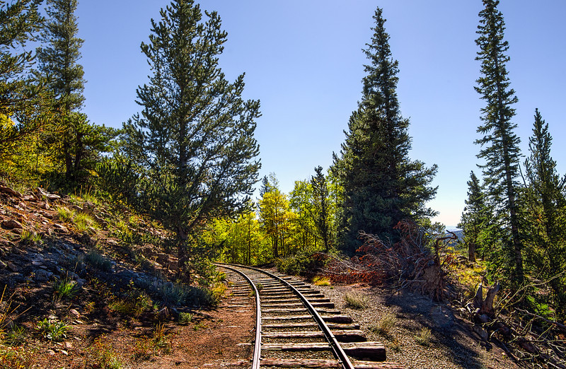 Boreas Pass Narrow Gauge Rail Line