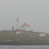 Discovery Island Light House in the Fog