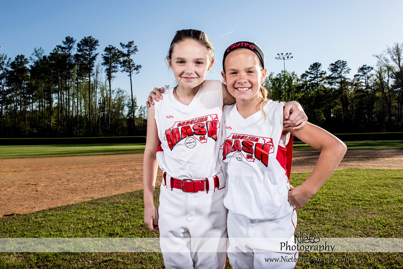 Sports Portraits - Carolina Mash Fastpitch - 0754
