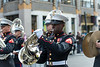 The U.S. Marines Band from Quantico at the Parade.