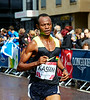 Mohammed Kassim Running in the Commonwealth Games Marathon in Glasgow - 27 July 2014