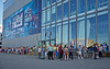 Small Part of the Queue for Tonight's Live Show at the BBC - Glasgow Commonwealth Games - 23 July 2014