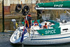 A Bit of 'Spice' at the Commonwealth Flotilla in James Watt Dock Marina - 25 July 2014