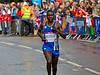 Jean Pierre Mvuyekure Running in the Commonwealth Games Marathon in Glasgow - 27 July 2014