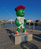 'Clyde' by the River Clyde for the Glasgow Commonwealth Games - 23 July 2014