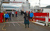 The Queen's Baton Arrives at the Gourock Ferry Terminal - 14 July 2014