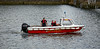 St Mungo Fire Boat at Pacific Quay in Glasgow - 27 July 2014