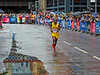 John Leonard Karori Running in the Commonwealth Games Marathon in Glasgow - 27 July 2014