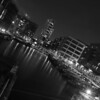 Clarence Dock in Black and White