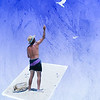 Maker:  Cindy Circu Title:  Man feeding Gulls Category:  Altered Reality Score:  11