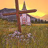 Maker:  Wayne Tabor<br /> Title:  Native Church Sunrise<br /> Category:  Pictorial<br /> Score:  13