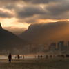 Sunset on Ipanema