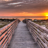 Boardwalk sunset - Honeymoon Island State Park Dunedin,FL