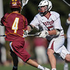 Menlo Atherton High School Varsity Boys Lacrosse vs. Sacred Heart Prep, 2014-03-18