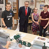 Congressman Salmon Visits Fremont Junior High