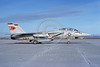 F-14USN-VF-1 0025 A taxing USN Grumman F-14 Tomcat jet fighter 162601 VF-1 WOLFPACK USS Ranger NAS Fallon 1-1992 military airplane picture by Michael Grove, Sr